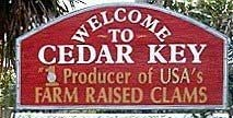 Welcome to Cedar Key, Florida