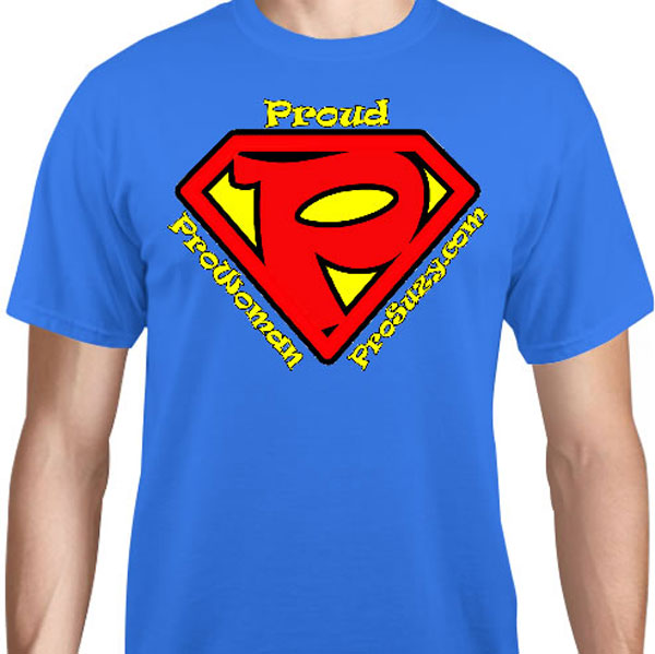 ProSuzy Blue Logo T-Shirt