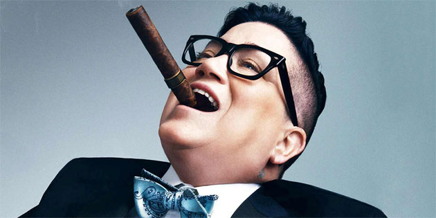 Lea DeLaria Takes the Stage at the Palladium for TIGLFF 26 October 3rd