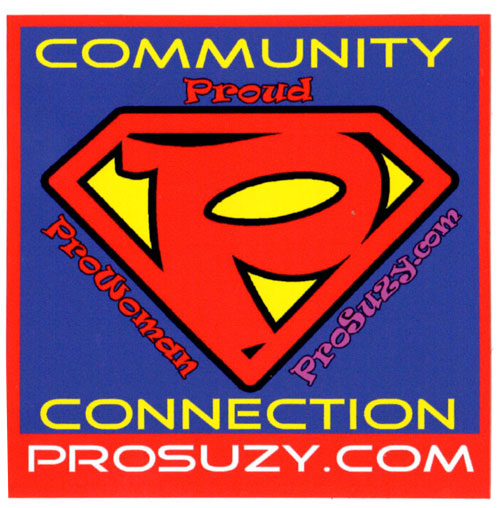 ProSuzy Square Sticker