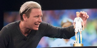 Abby Wambach Comes Out … as a Fashionista Barbie Doll