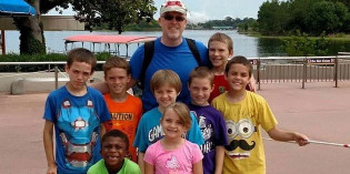 North Florida Gay Dad with Eight Kids is Likened to a Superhero