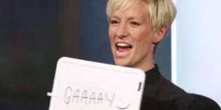 Megan Rapinoe on Being a Tomboy, Sports &  Coming Out