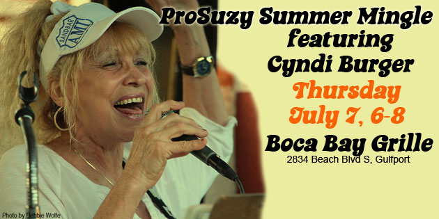 Don't Miss This July 7 – ProSuzy Mingle With Cyndi Burger