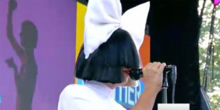 "WATCH: Sia Sings ""Unstoppable"""