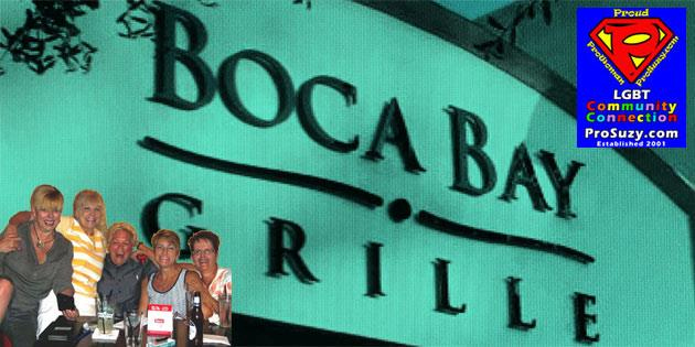 Kick Off Your Labor Day Weekend Thursday, Sept 1st – Live Music by Cyndi Burger @ Boca Bay Grille
