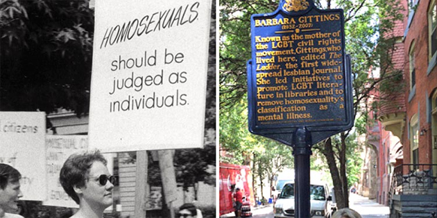 "Historic Marker Dedicated to ""Mother of LBGT Civil Rights Movement"""