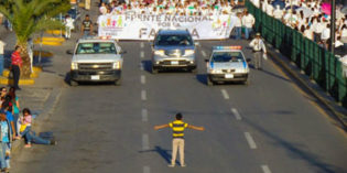 Boy Faces Down 11,000 People Marching Against Marriage Equality in Mexico