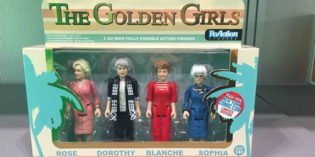 "Golden Girls Action Figures are ""Hot"" at New York Comic Con"