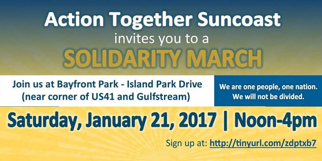 More Than 2,000 Expected at Sarasota Solidarity March