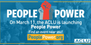 Saturday, March 11 – ACLU People Power Resistance Training Livestream Events