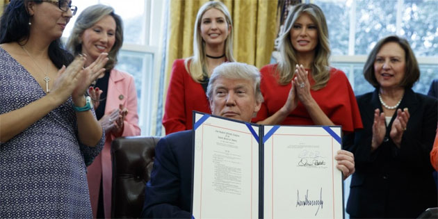 Trump: I Respect Women … I Respect Women … I Respect Women