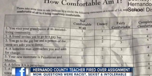 Spring Hill Teacher Fired After Assigning Questionable Survey to Middle School Students