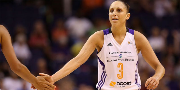Diana Taurasi Suspended One Game for Hitting Opponent