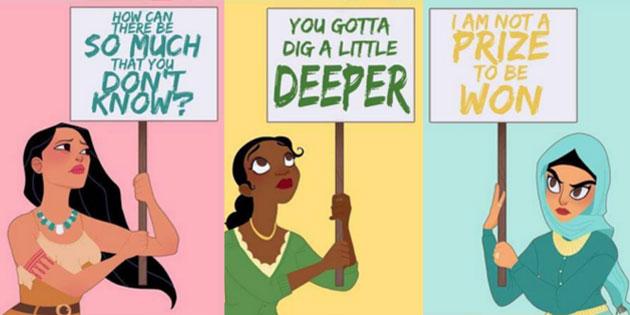 Disney Princesses Take it to the Street
