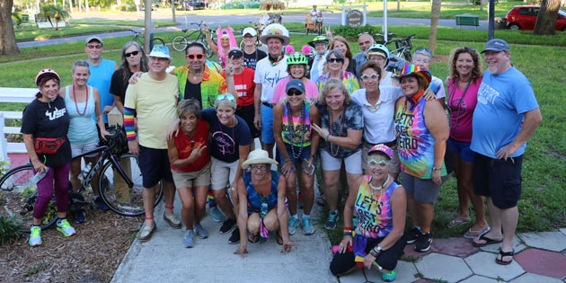 Gulfport Community Gets Together for a Pride Fun Ride