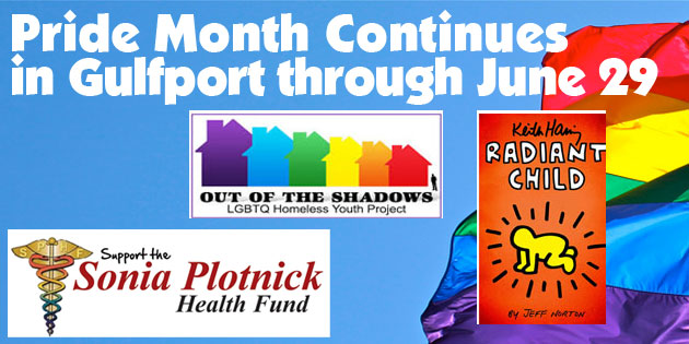 Pride Month Will Conclude in Gulfport Thursday, June 29th with Two Special Events