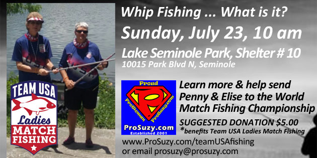 What's Whip Fishing? Please Help Penny & Elise Make History for Women