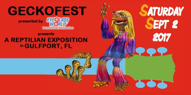 Celebrate the Gecko in Gulfport Saturday, September 2