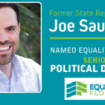 Equality Florida Names Former State Rep Joe Saunders Its Senior Political Director