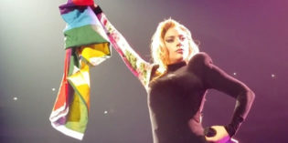 VIDEO: Lady Gaga Raises Flag for Equality on World Tour Opening Night