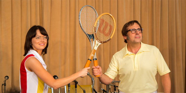 VIDEO: Battle of the Sexes Sheds a Light on Billie Jean King's Dual Challenges