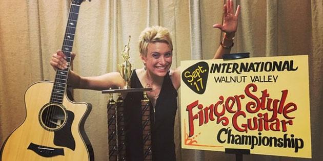 VIDEO: Singer-Songwriter Christie Lenee Wins 2017 International Finger Style Guitar Championship