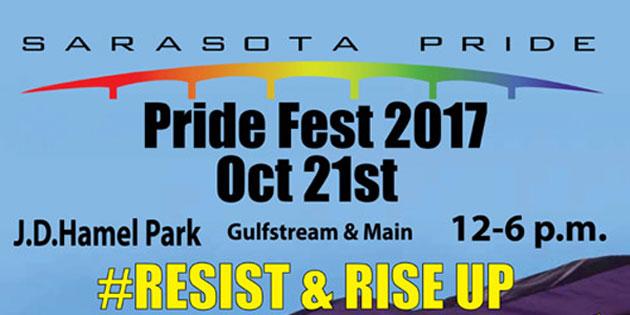 Sarasota Pride Saturday, October 21 … Food Trucks, Tiki Bar, Live Music!