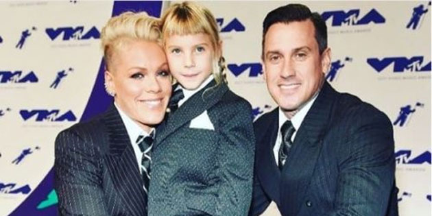 P!nk is Raising Her Children Free From Gender Roles & Labels