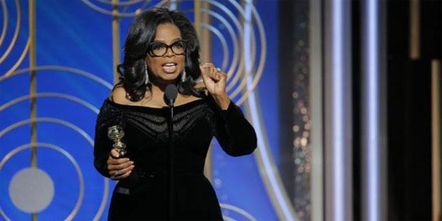 VIDEO: Oprah's Golden Globe Speech Sparks Presidential Run Questions