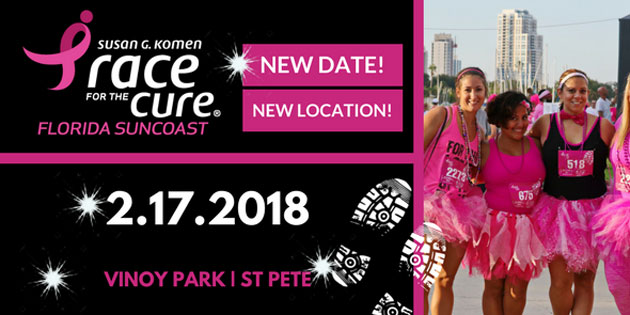 Komen Central Florida Closes … Suncoast Group Schedules February 17 Race