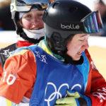 Knee Injury Doesn't Stop Snowboarder Bell Brockhoff