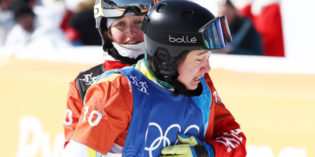 Knee Injury Doesn't Stop Snowboarder Bell Brockhoff