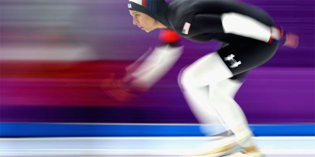 Out Speed Skater Brittany Bowe Helps Team USA Advance to Olympic Semifinals