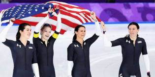 Brittany Bowe Wins First Olympic Medal Since 2002