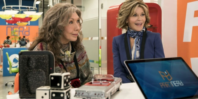 Grace & Frankie Will be Back Next Year with a Visit from RuPaul