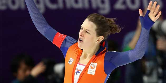 Dutch Speed Skater Ireen West Wins Gold & Sets New Olympic Record