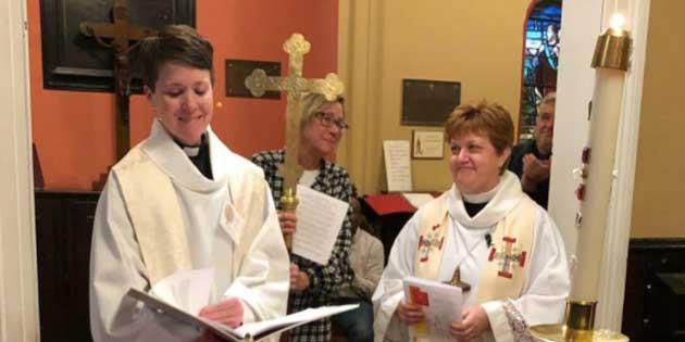 NJ Transgender Pastor Celebrates with Renaming Ceremony at His Church